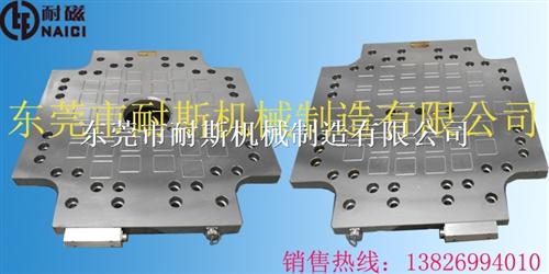 声凯S250注塑机防水防油快速换模电永磁吸盘提供设计定制