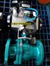 Q641F-16C DN80气动铸钢法兰球阀带防爆电磁阀