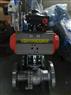 Q641F-16P DN50气动不锈钢法兰球阀AT双作用气动球阀