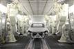 广州汽车机器人自动喷粉生产线