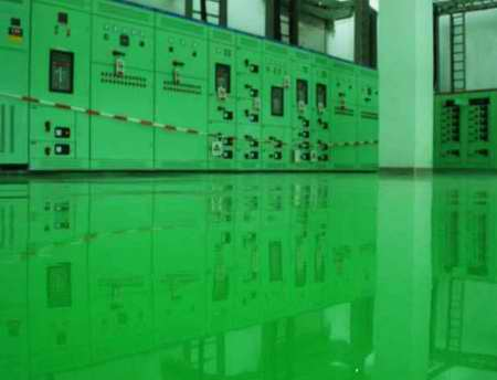 环氧防静电自流平地坪涂装