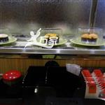 单轨旋转寿司设备第三代不锈钢链条