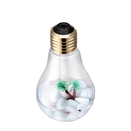 New creative bulb humidifier night light