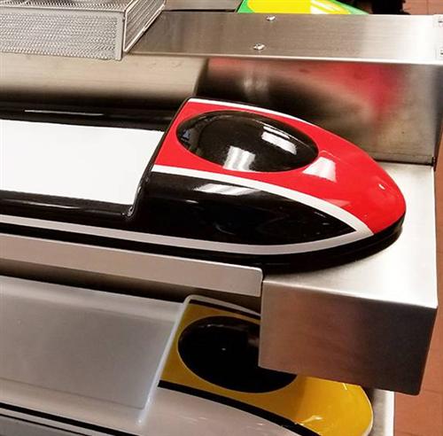 新干线自动送餐设备打造智能餐厅